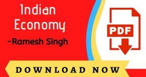 Indian Economy By Ramesh Singh 7th edition PDF Book