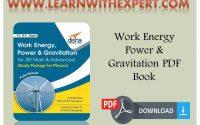 Work Energy Power & Gravitation PDF Book
