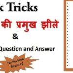 India's Lakes Important Quiz